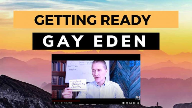 Getting ready for the gay eden