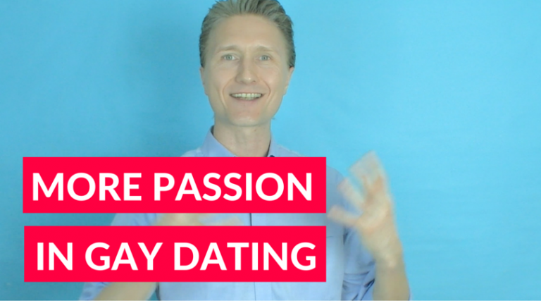 More Passion In Gay Dating